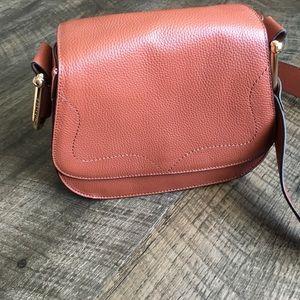 Brown Leather Shoulder Bag Vince Camuto Purse